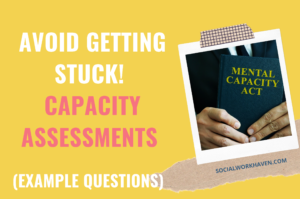 Capacity assessment example questions