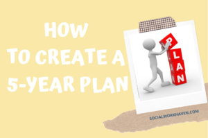 how to create a 5-year plan