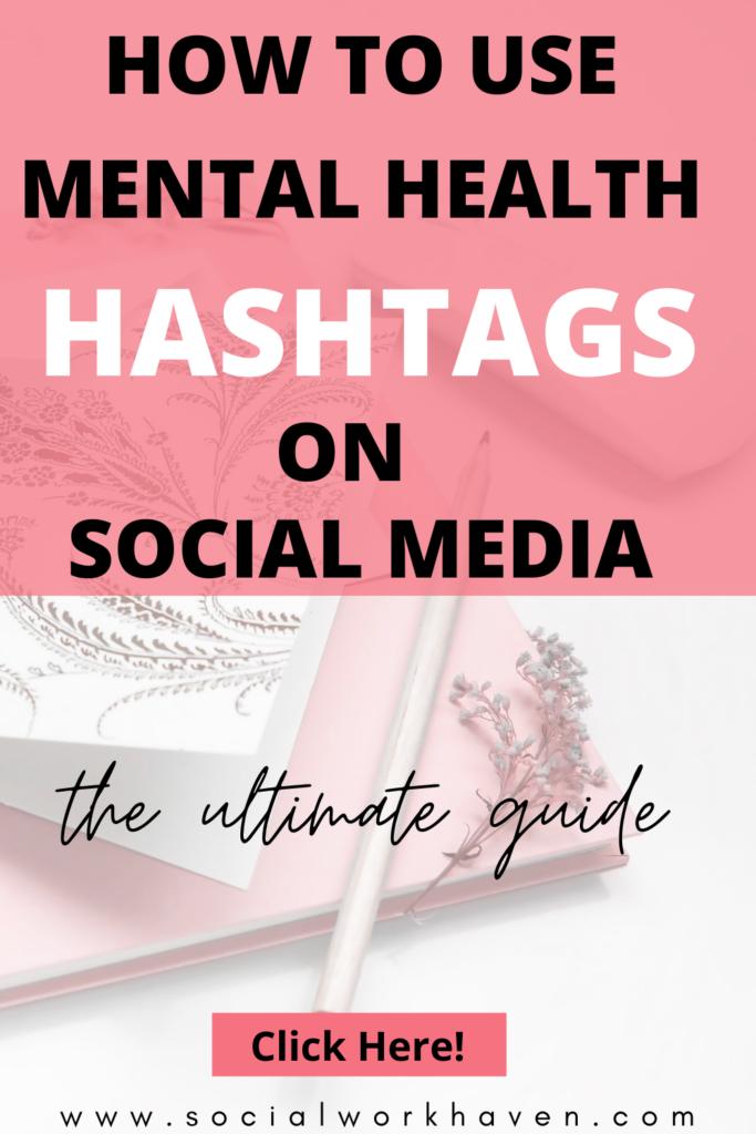 Mental Health Awareness Hashtags