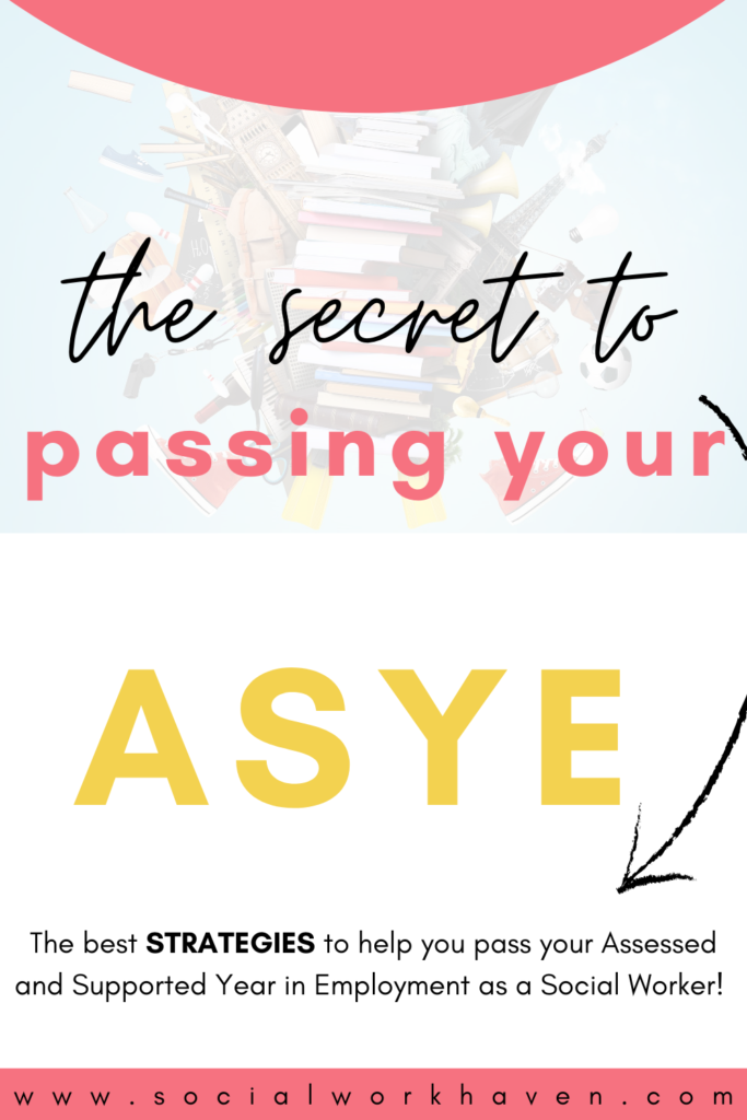 The Secret to Passing your ASYE