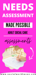 eligibility assessment in adult social care