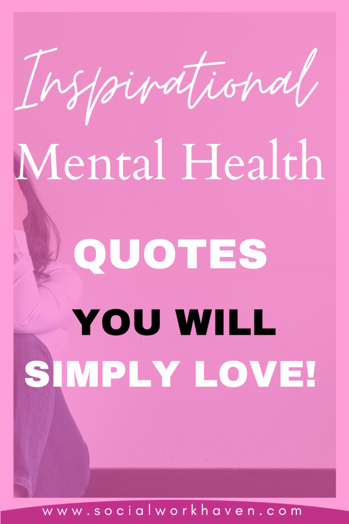 quotes on mental health