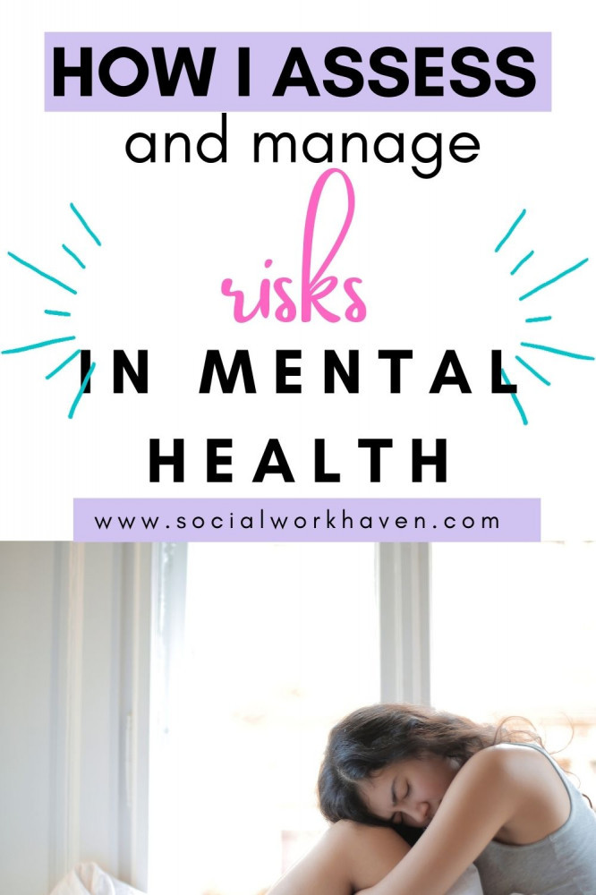 assessing and managing risk in mental health