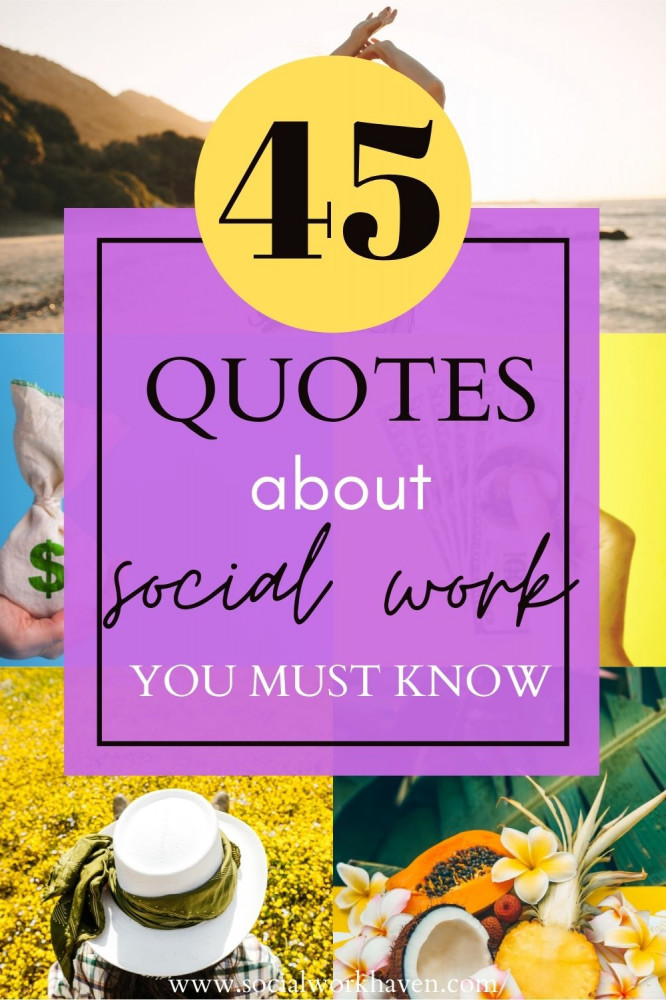 Positive quotes for social workers