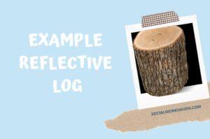 Example reflective log - duty