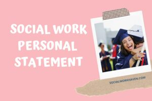 social work personal statement example