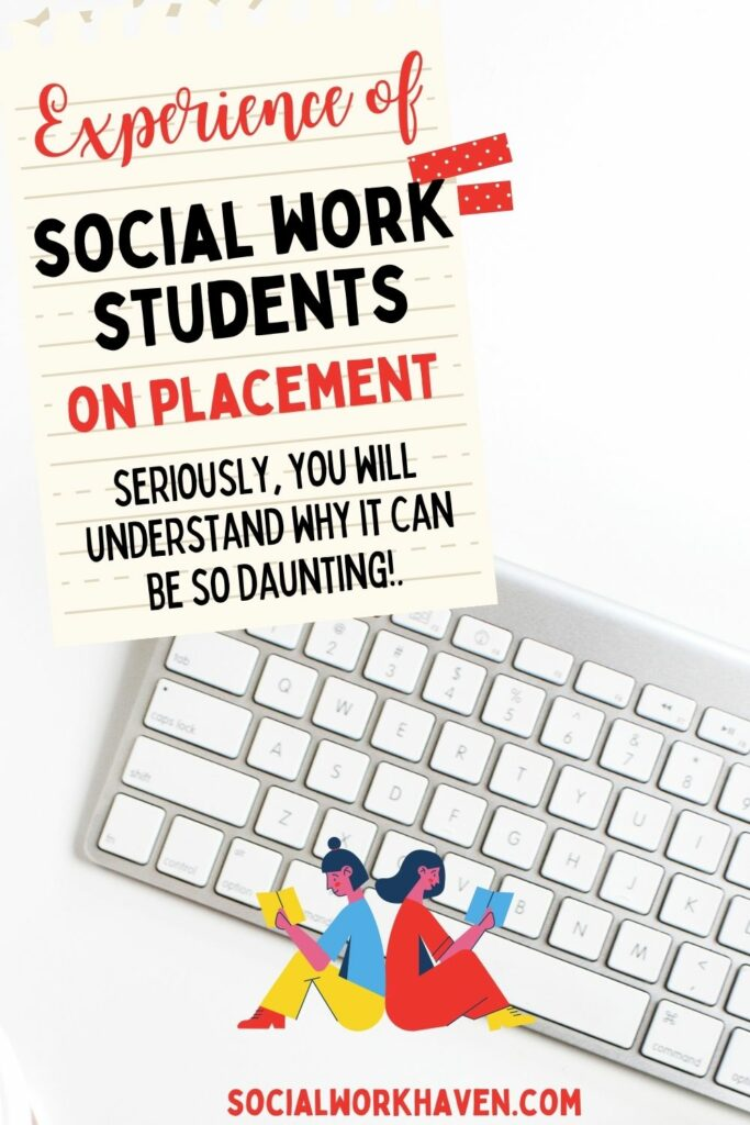 student's on social work placement