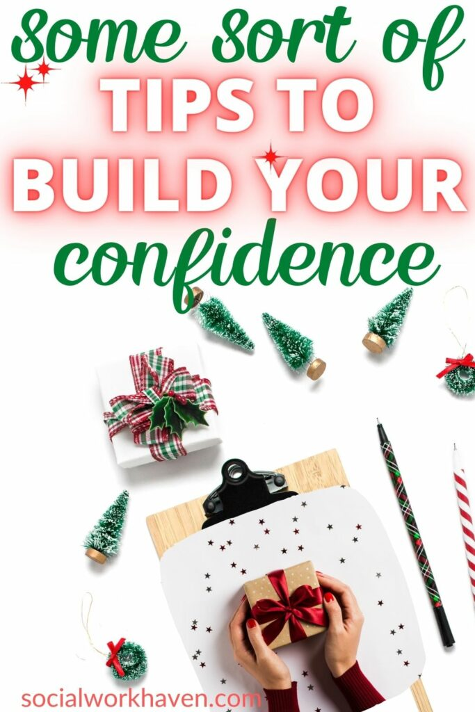 how to build confidence as a social worker