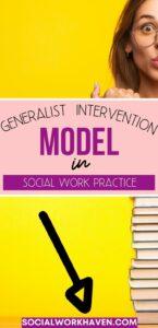 Generalist intervention model in social work practice