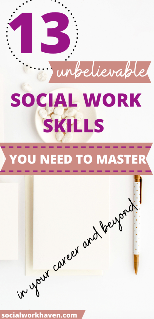 key skills in social work