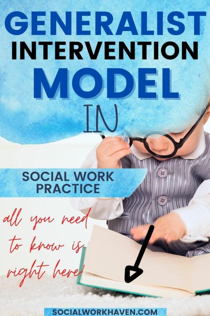 social work generalist intervention model