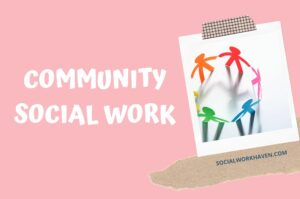 community social work