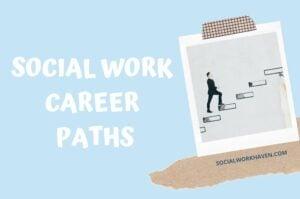 social work career paths