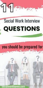 social work interview questions you should know of