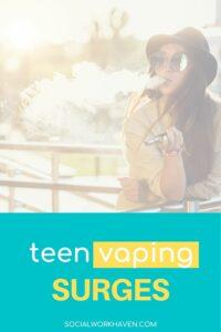 teen vaping surges